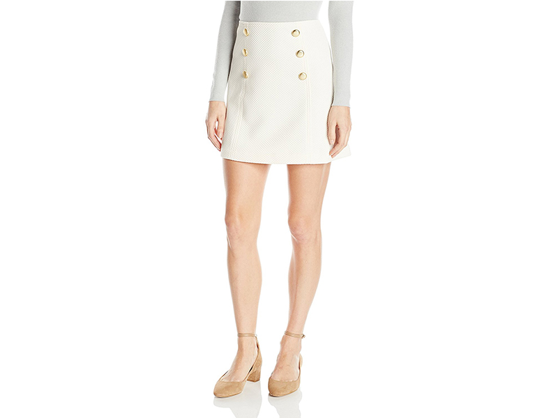 Kensie Mini Quilted Jersey Skirt