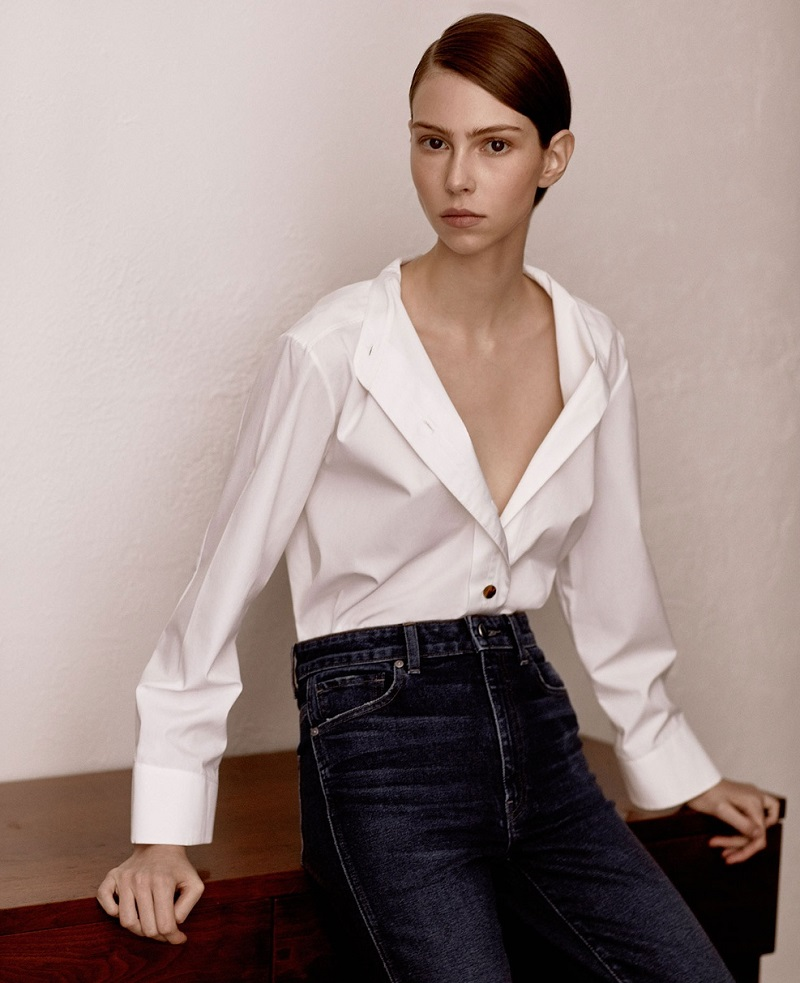 Khaite Paloma box-cut shirt