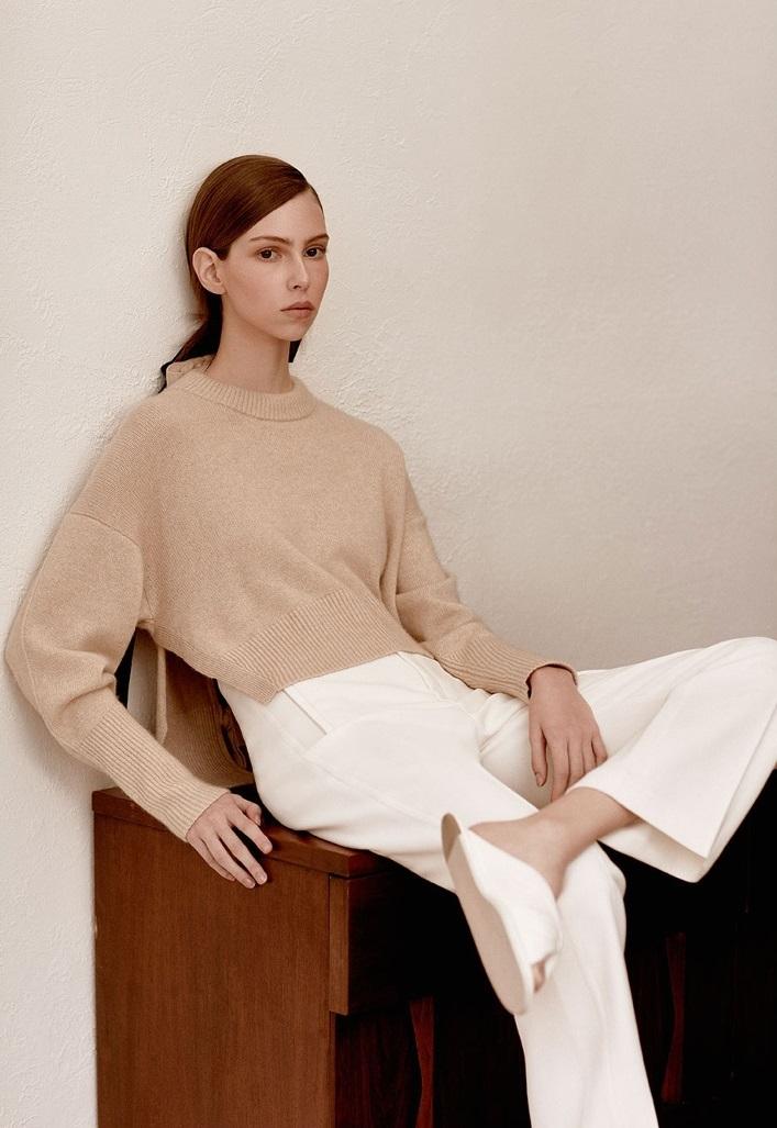 Khaite Renee tie-back sweater