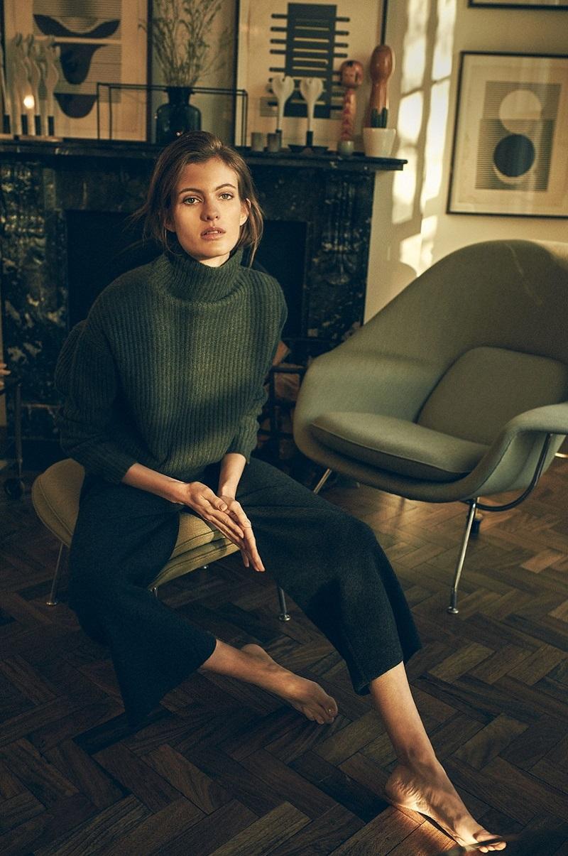 Le Kasha Verbier ribbed-knit cashmere sweater