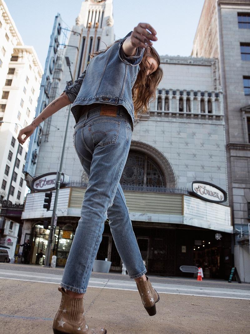Levis Heat Stroke Levi's 505c Cropped Jeans