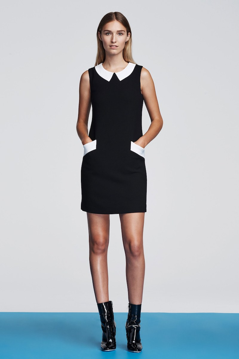 Lisa Perry Wool Shift Dress
