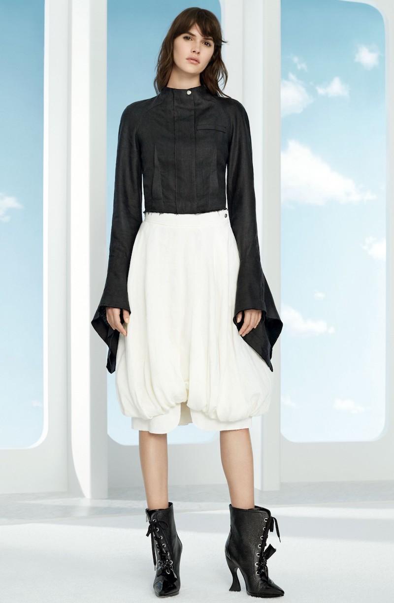 Loewe Extra Long Sleeve Linen Jacket
