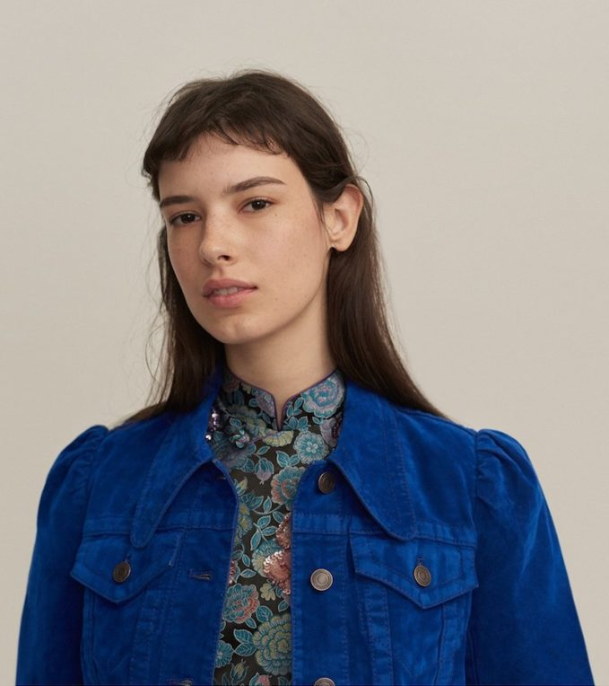 MARC JACOBS Velvet Puff Sleeve Jacket