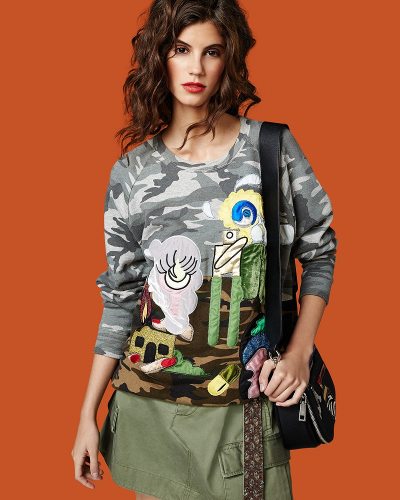 Marc Jacobs Belted Cargo-Pocket Mini Skirt