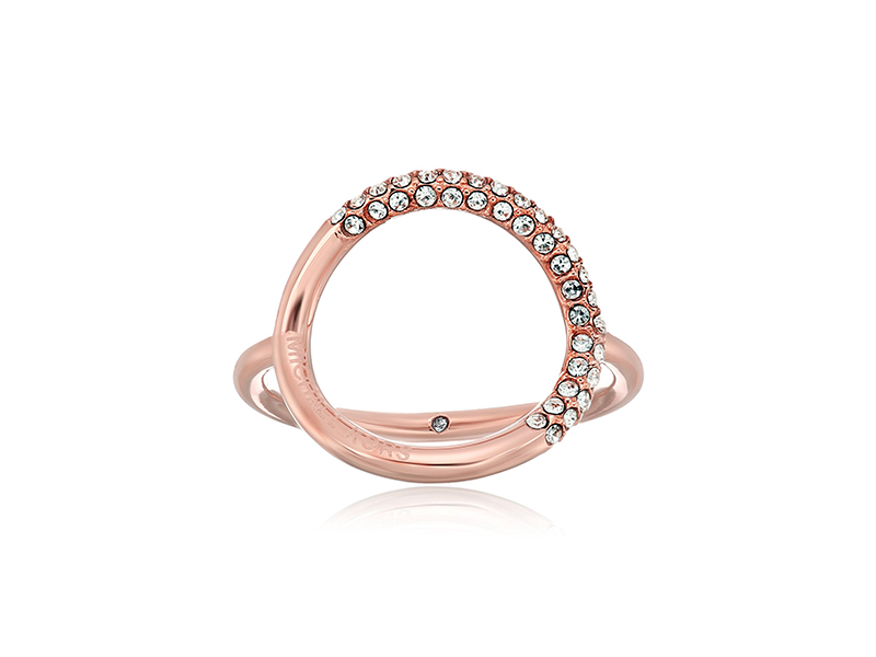 Michael Kors Brilliance Banded Circle Ring