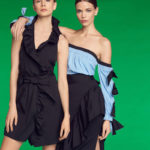 Milly Blythe Off-the-Shoulder Stretch-Poplin Top