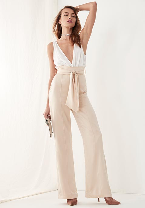 Misha Collection Flavanor Silk Pant