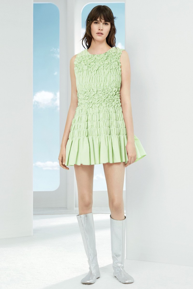 Molly Goddard Olga Mini Dress