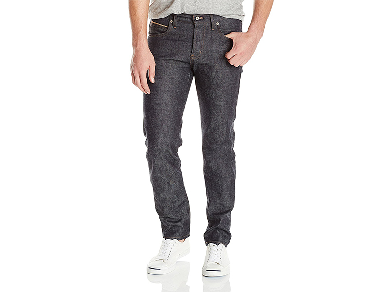 Naked & Famous Denim Chinese New Year Fire Rooster Super Skinny Guy Jean