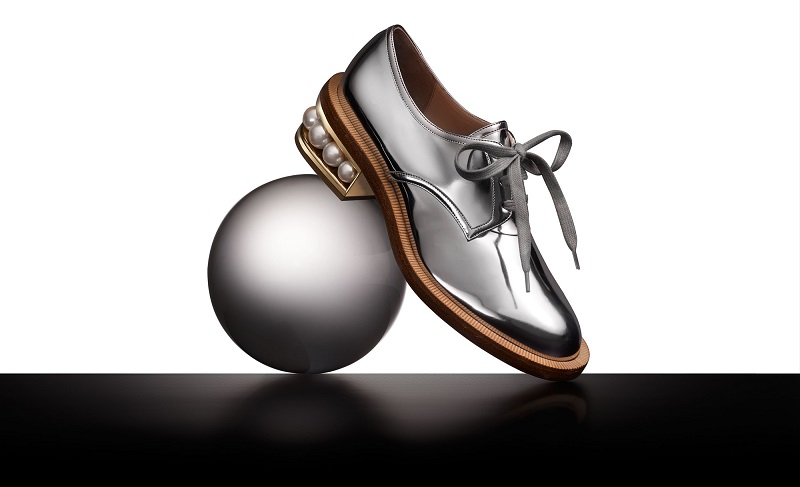 Nicholas Kirkwood Casati pearl-heeled derby shoes