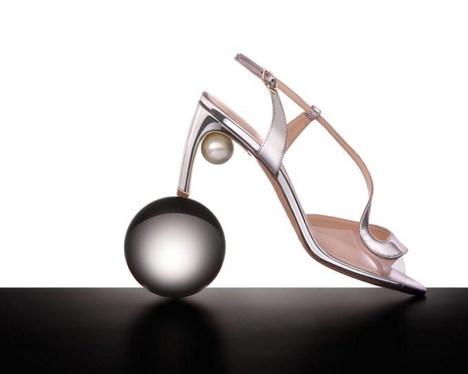Nicholas Kirkwood Maeva pearl-embellished leather sandals-