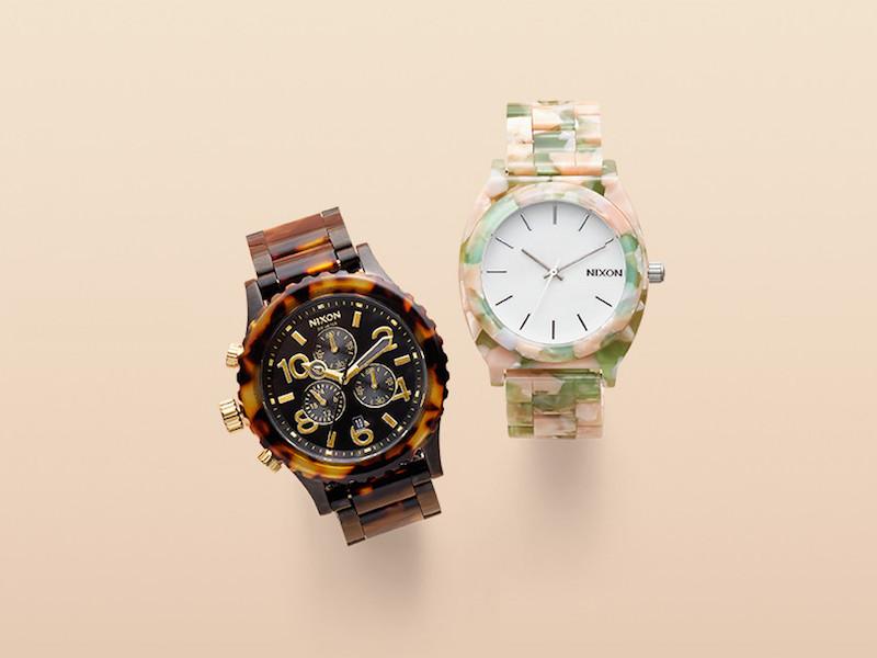 Nixon The 38-20 Extra Large Chronograph Bracelet Watch