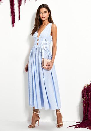 No. 21 Sleeveless Maxi Dress