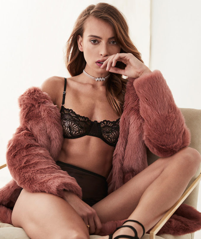 Only Hearts Whisper Sweet Nothings All Lace Demi Bra