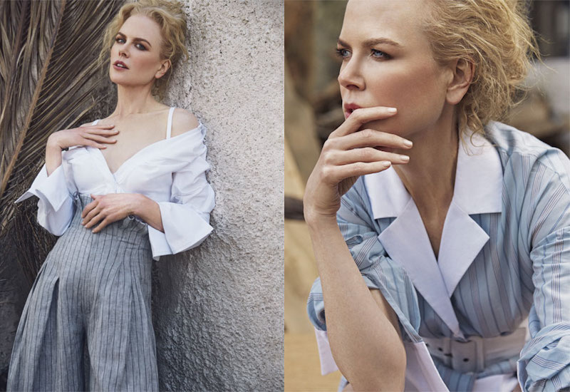 Portrait of an Artist Nicole Kidman for The EDIT 2