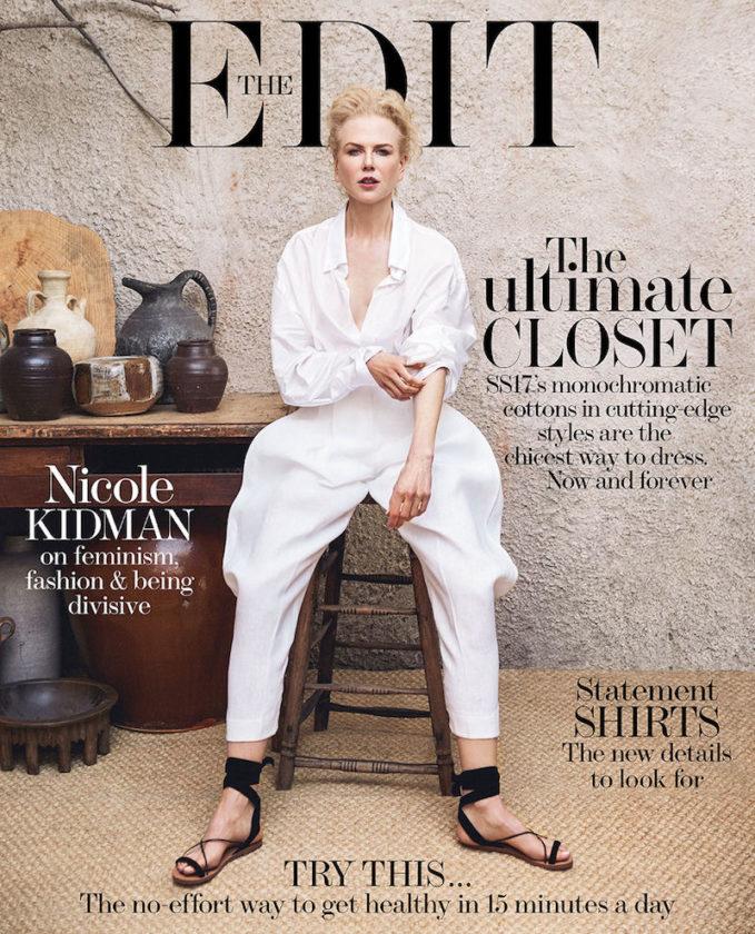 Portrait of an Artist: Nicole Kidman for The EDIT