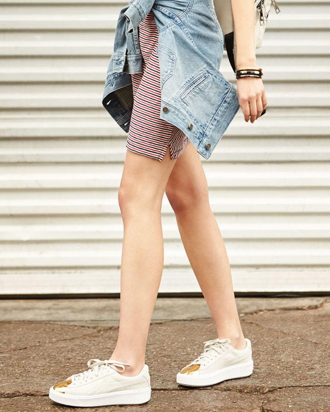 puma basket outfit