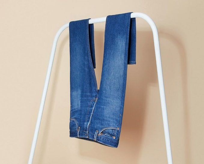 REDONE Straight high-rise jeans