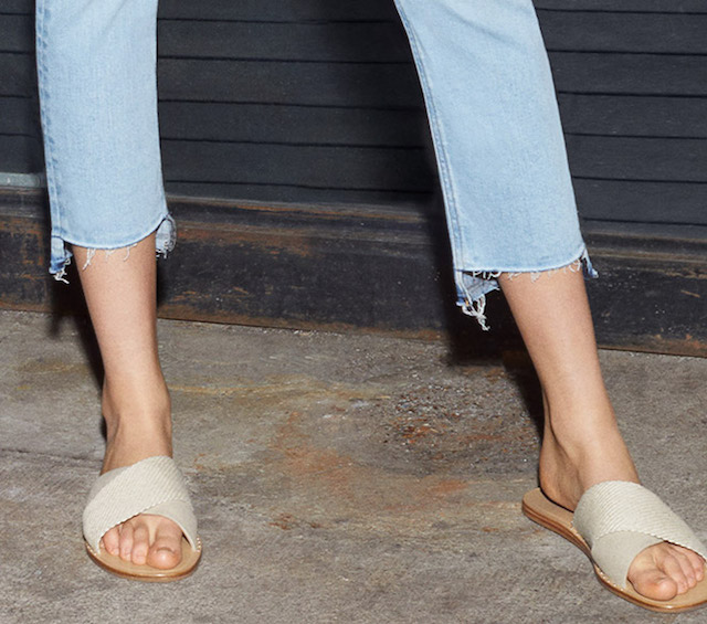 Rag & Bone Keaton Crisscross Web Slides