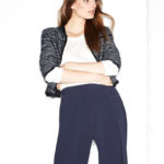 Rag & Bone Rosalie Cropped Zip-Front Sweater Jacket