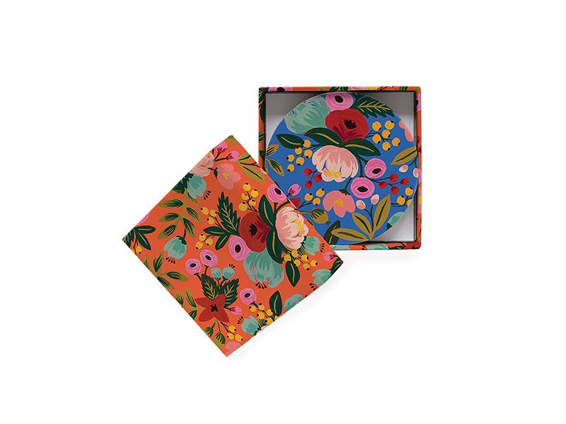 Rifle Paper Co. Floral Coaster Set