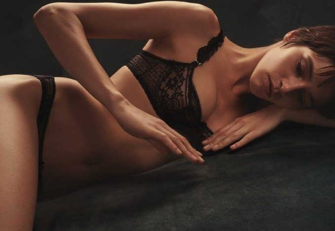Stella McCartney Ellie Leaping Leopard-Print Balconette Bra-