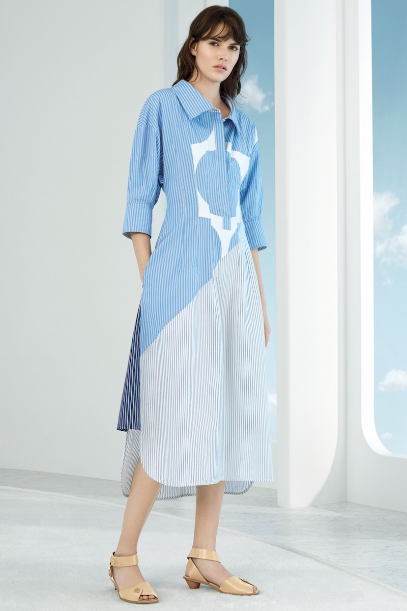 Stella McCartney Stripe Cotton Shirtdress