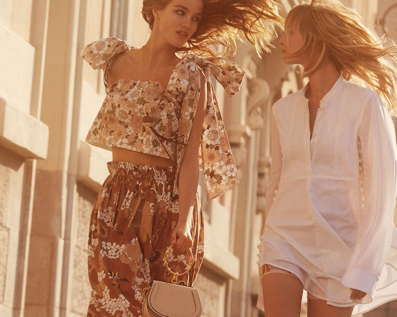 The Chloé Spring Summer 2017 Campaign
