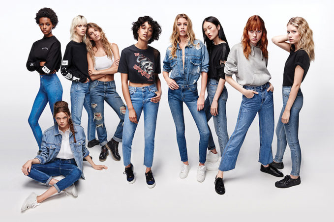 Topshop Jeans Spring 2017 Collection