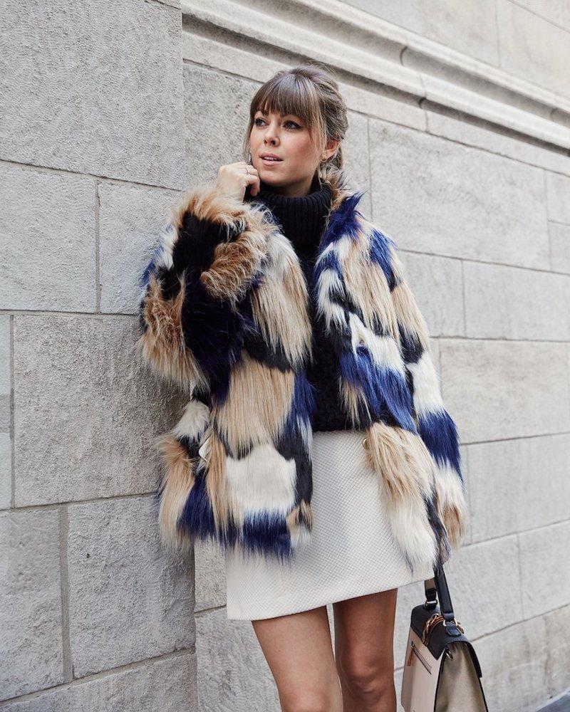 Trina Turk Makayla Faux-Fur Coat