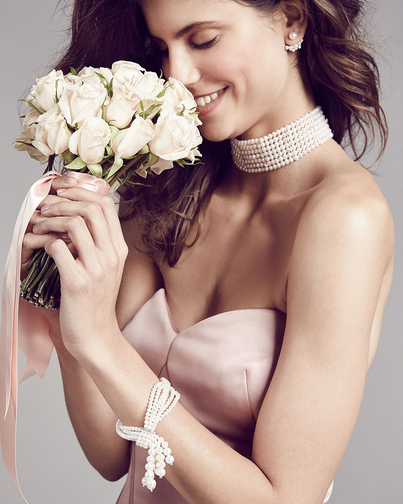 Utopia Nine-Strand Pearl Bracelet