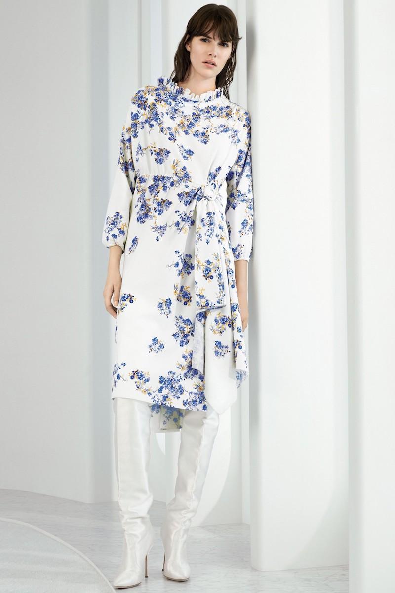 Vetements Floral Print Dress