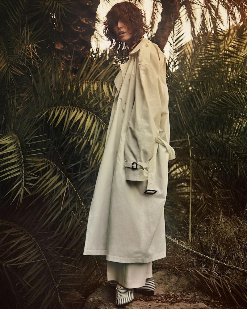 Vetements X Mackintosh cotton trench coat
