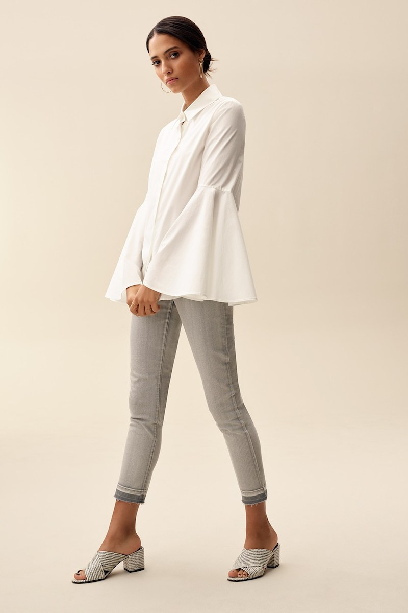 Vince Camuto Bell Sleeve Shirt
