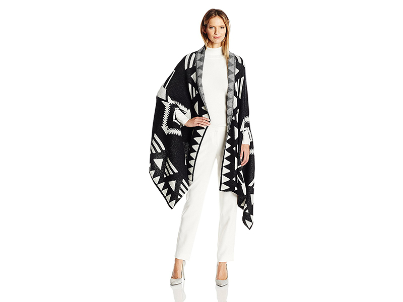 Woolrich Aztec Knit Scarf with Arm Slots