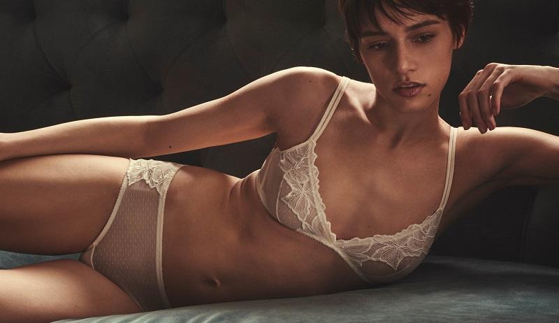 Yasmine Eslami Morgane Lace Soft Bra