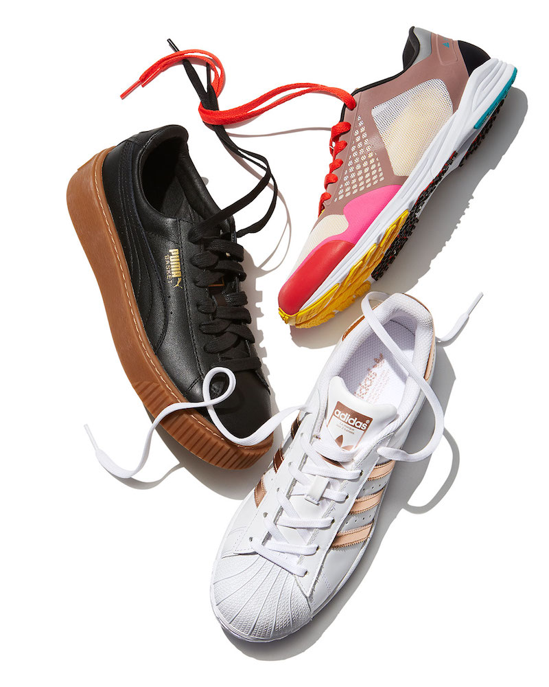 adidas by Stella McCartney Adizero Takumi Colorblock Sneaker