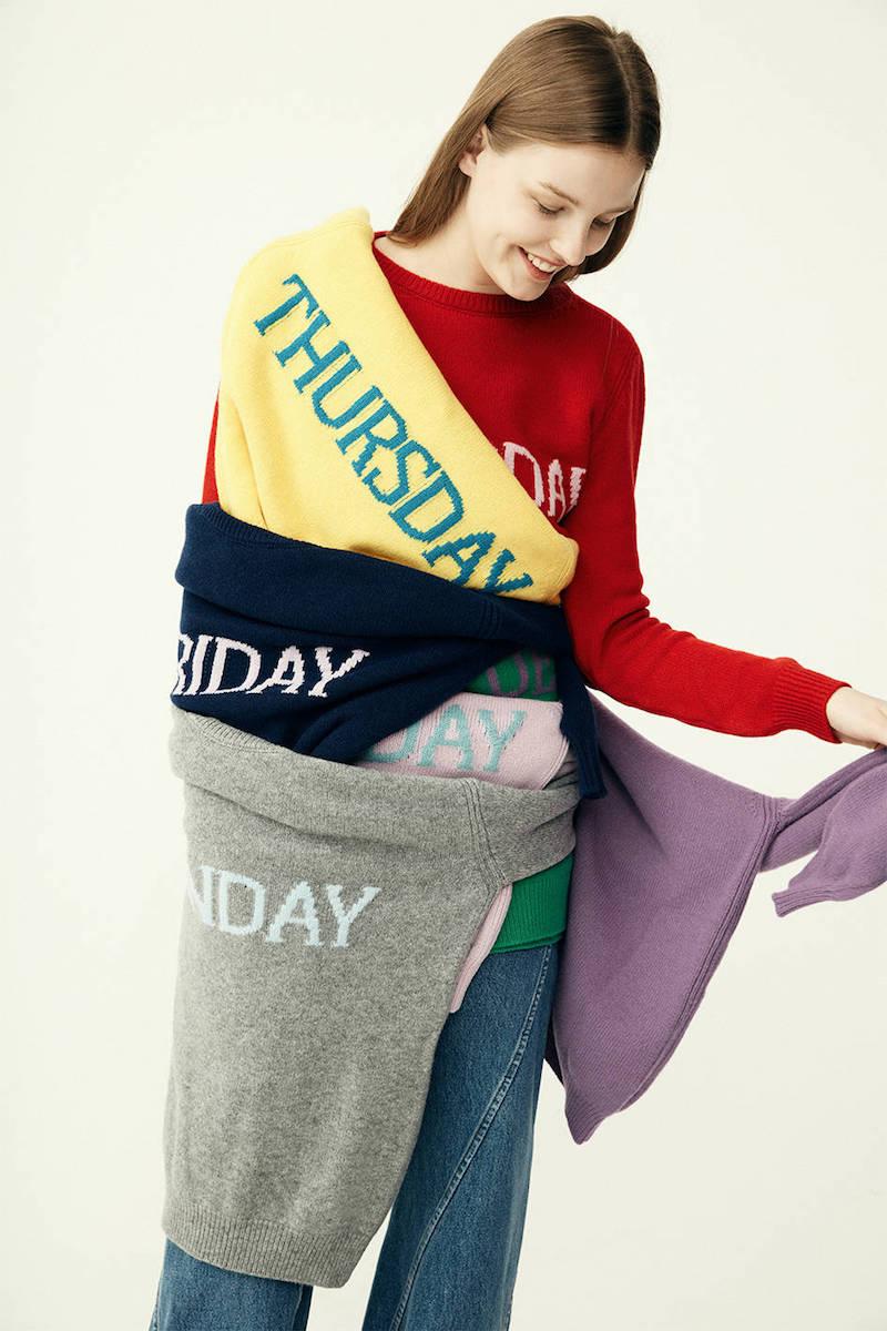 Alberta Ferretti Saturday Wool & Cashmere Knit Sweater