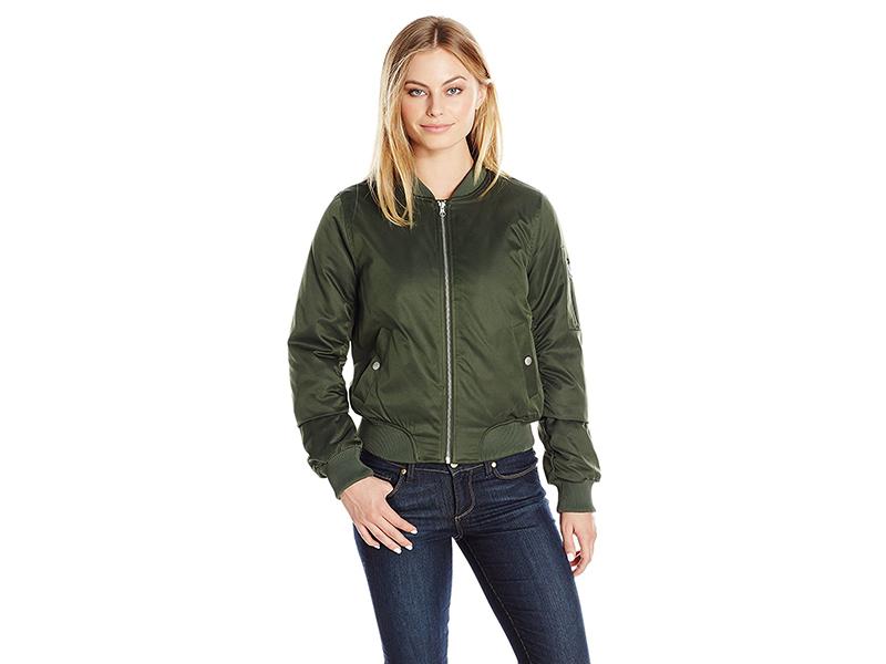 BB Dakota Petite Atwood Bomber Jacket