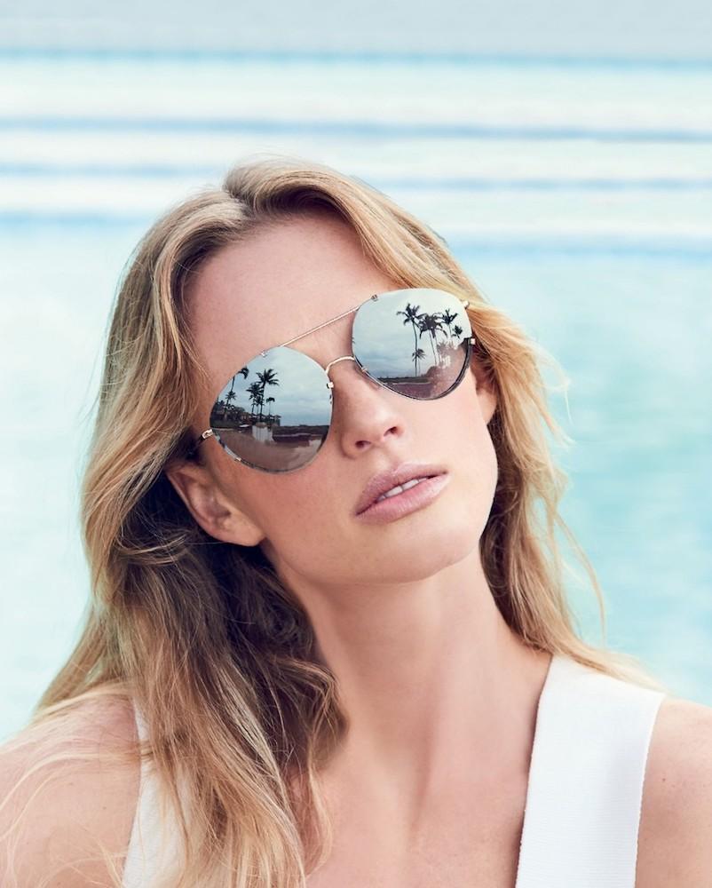 Balenciaga 60MM Mirrored Geometric Aviator Sunglasses