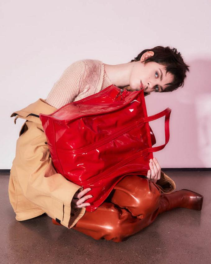 Balenciaga Bazar Medium Shopper Tote Bag