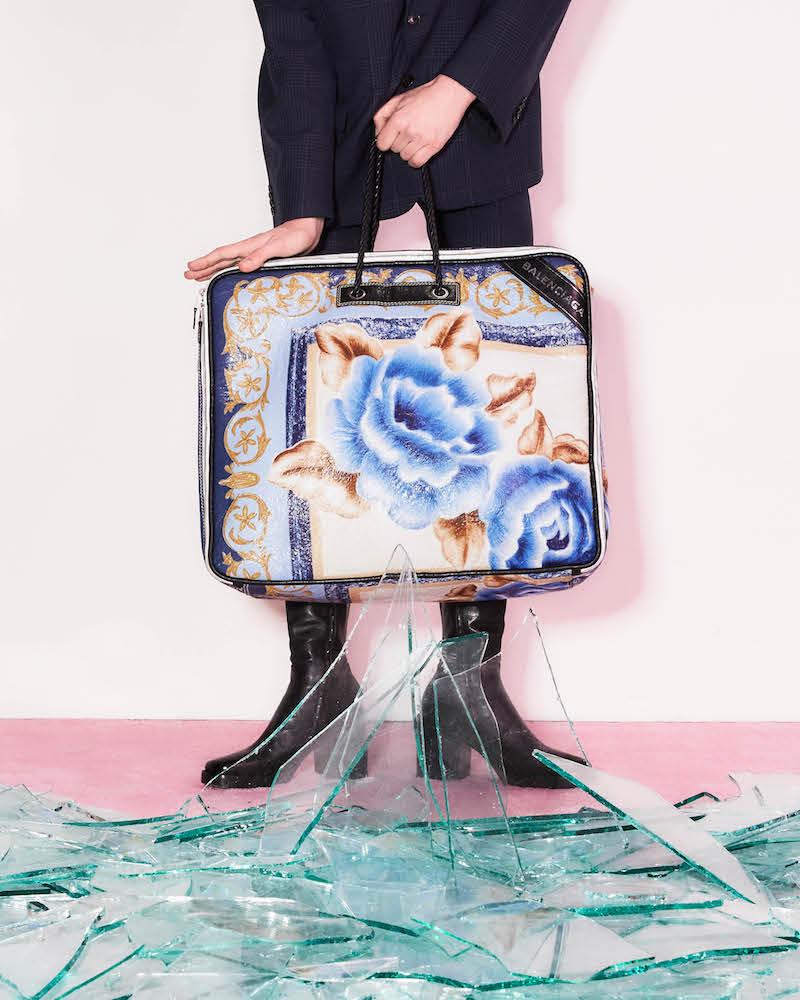 Balenciaga Blanket Extra-Large Square Bag