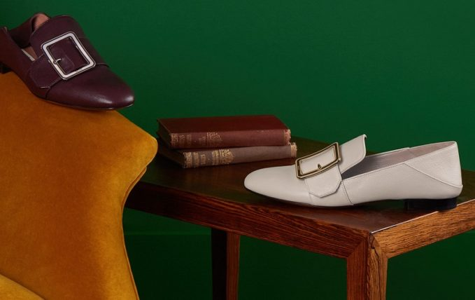 Bally Janelle Buckle Slipper