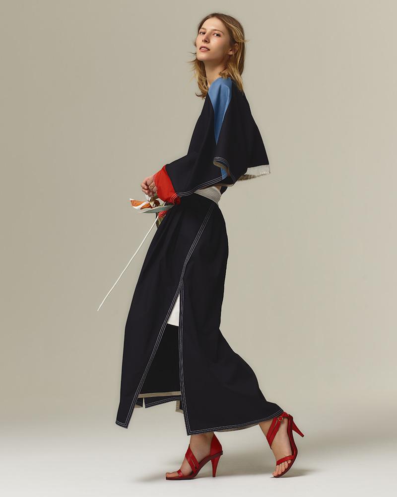 Chloé Paperbag-Waist Maxi Skirt