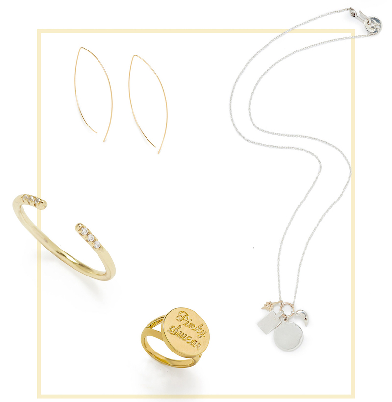 Cloverpost Nugget Excess Tight Lariat Necklace