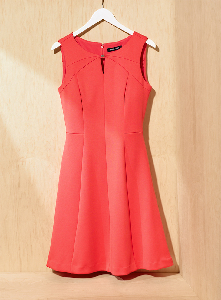 Ellen Tracy Sleeveless Fit and Flare Dress