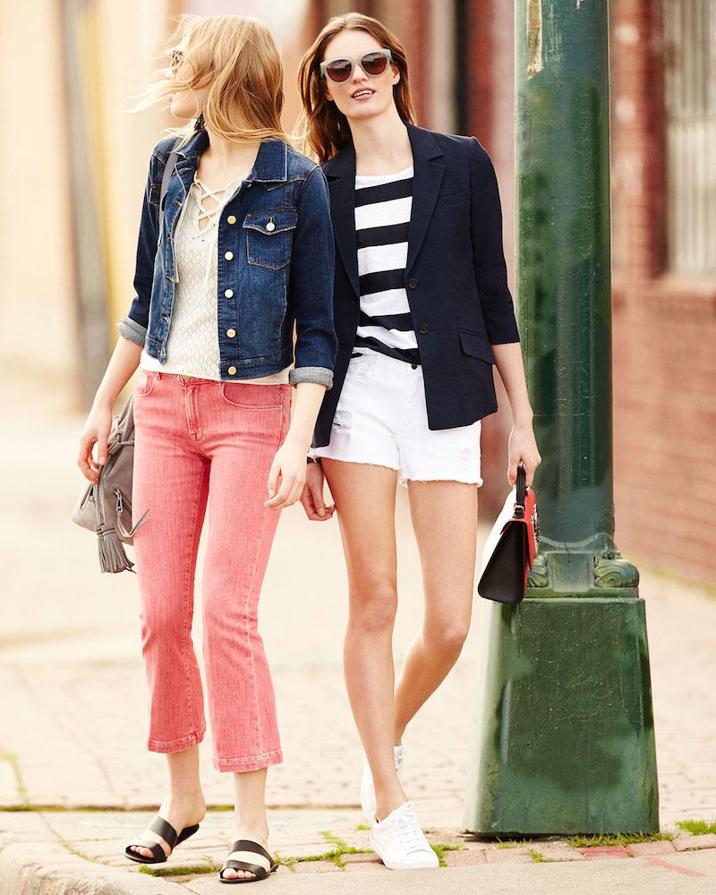 FRAME Le Color Crop Mini Boot-Cut Jeans