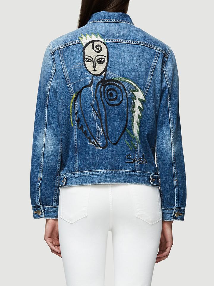 FRAME Sasha P Le Original Jacket in Bed Stuy