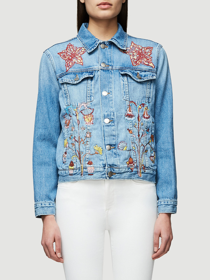 FRAME Sasha P Le Original Jacket in Flatbush